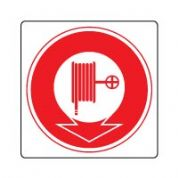 Fire safety sign - Fire Hose 6 124